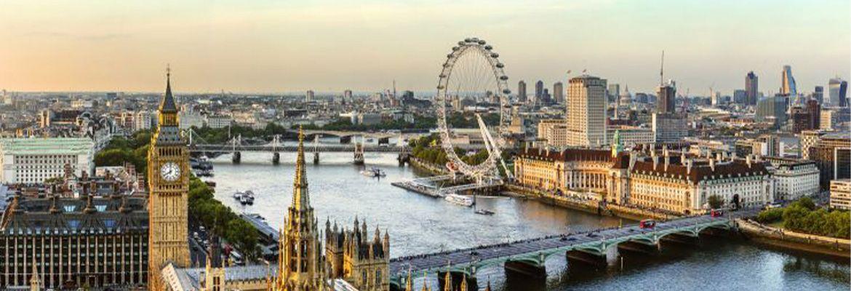 Foto Londres desde el cielo