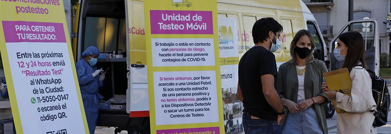 CABA: Testeos gratuitos para turismo interno