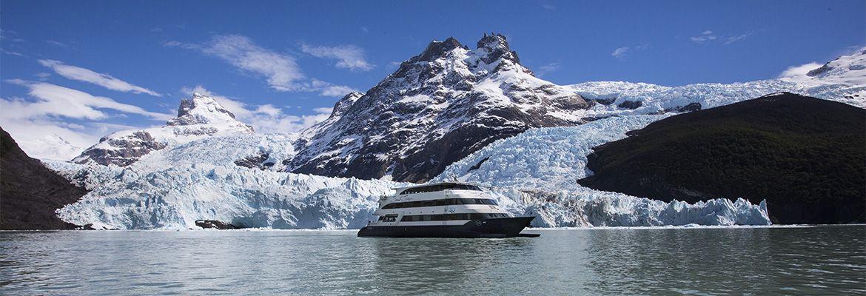 Foto Los Glaciares del sur de la Patagonia en una experiencia Gourmet