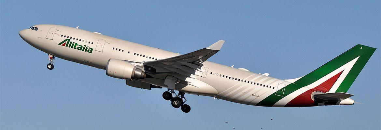 ALITALIA: Suspensión de vuelos